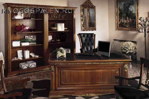 КАБИНЕТ VIVALDI CILIEGIO купить в салоне-студии мебели Барселона mnogospalen.ru много спален мебель Италии классические современные