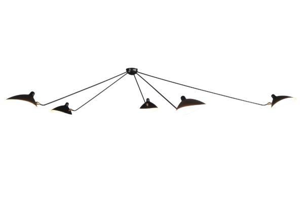 Потолочный светильник Spider 5 ламп  33896 купить в салоне-студии мебели Барселона mnogospalen.ru много спален мебель Италии классические современные