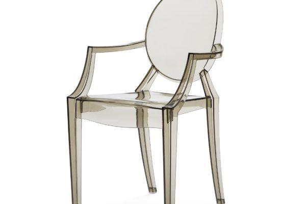 Детский стул Louis Ghost  4313 купить в салоне-студии мебели Барселона mnogospalen.ru много спален мебель Италии классические современные