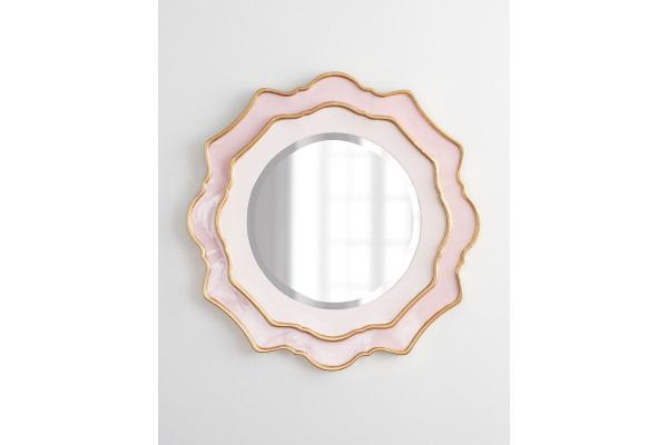 """Зеркало в раме """"Дороти"""" #pink купить в салоне-студии мебели Барселона mnogospalen.ru много спален мебель Италии классические современные"""